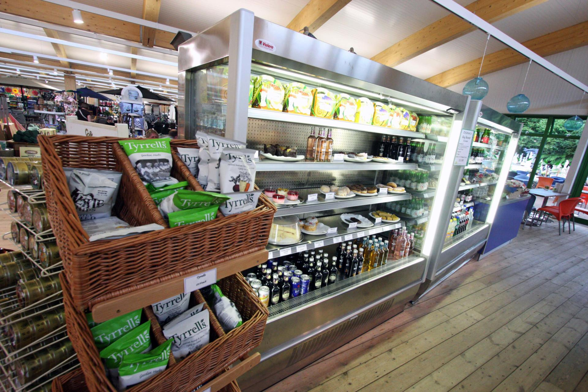 Coolings_Nursery_Knockholt_Kent_Front_of_house_Servery_Food Display_spacecatering_1