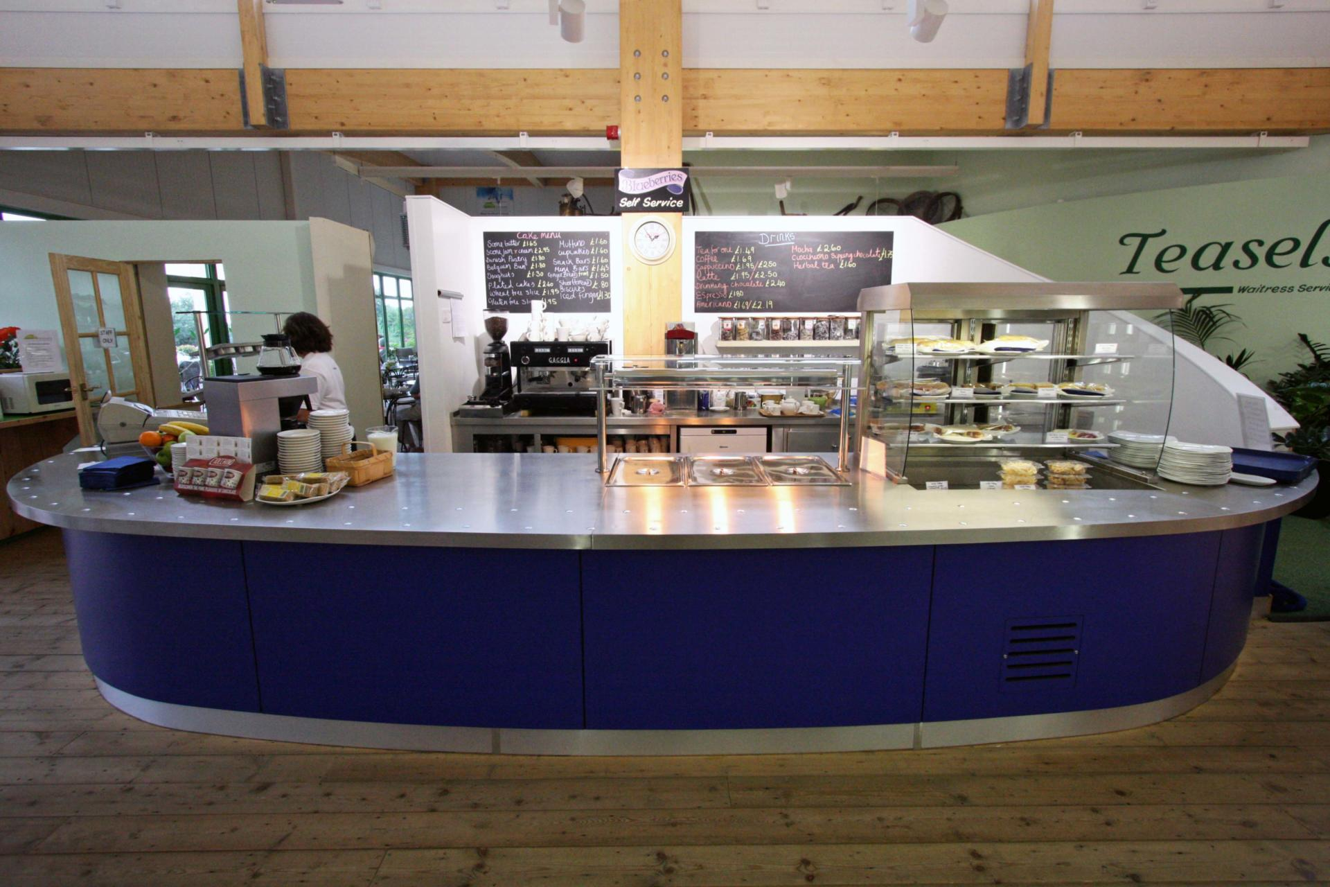 Coolings_Nursery_Knockholt_Kent_Front_of_house_Servery_Food Display_spacecatering_5