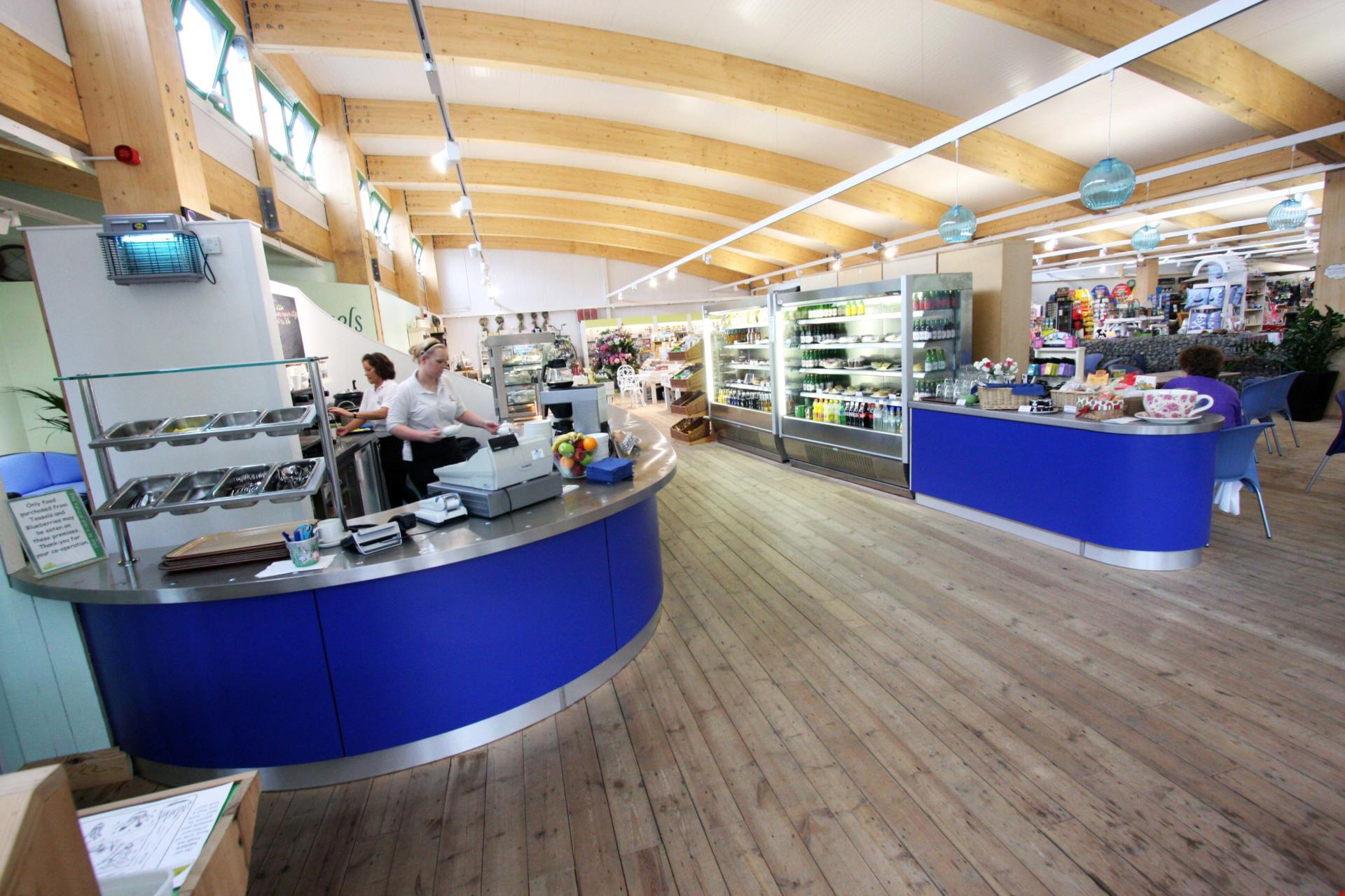 Coolings_Nursery_Knockholt_Kent_Front_of_house_Servery_Food Display_spacecatering_6