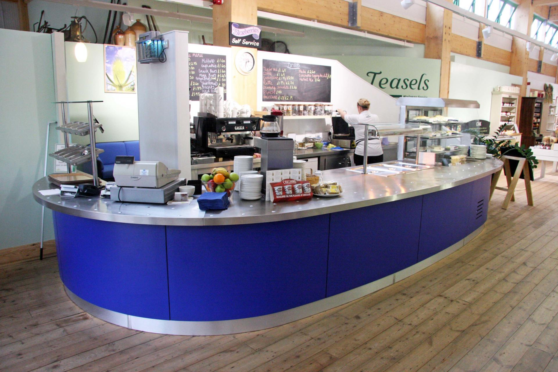 Coolings_Nursery_Knockholt_Kent_Front_of_house_Servery_Food Display_spacecatering_8