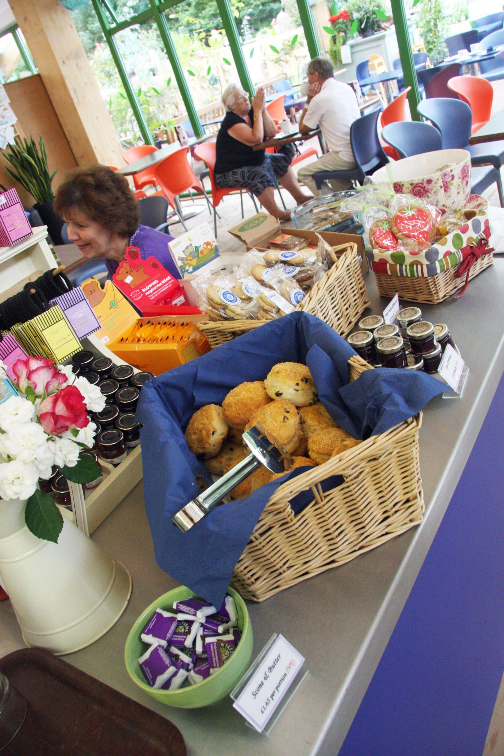 Coolings_Nursery_Knockholt_Kent_Front_of_house_Servery_Food Display_spacecatering_9
