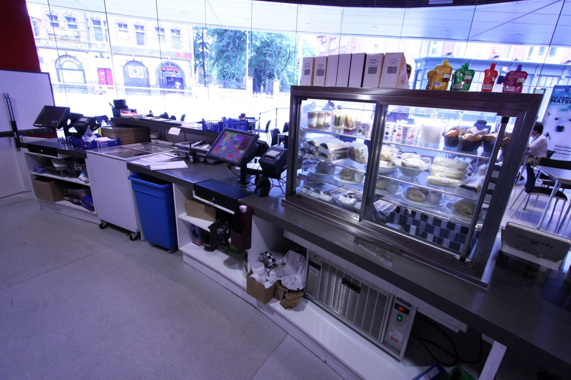 Leicester_City_Council_Leicester_Cafe_Bar_Front_of_house_Servery_Food_Display_spacecatering_6