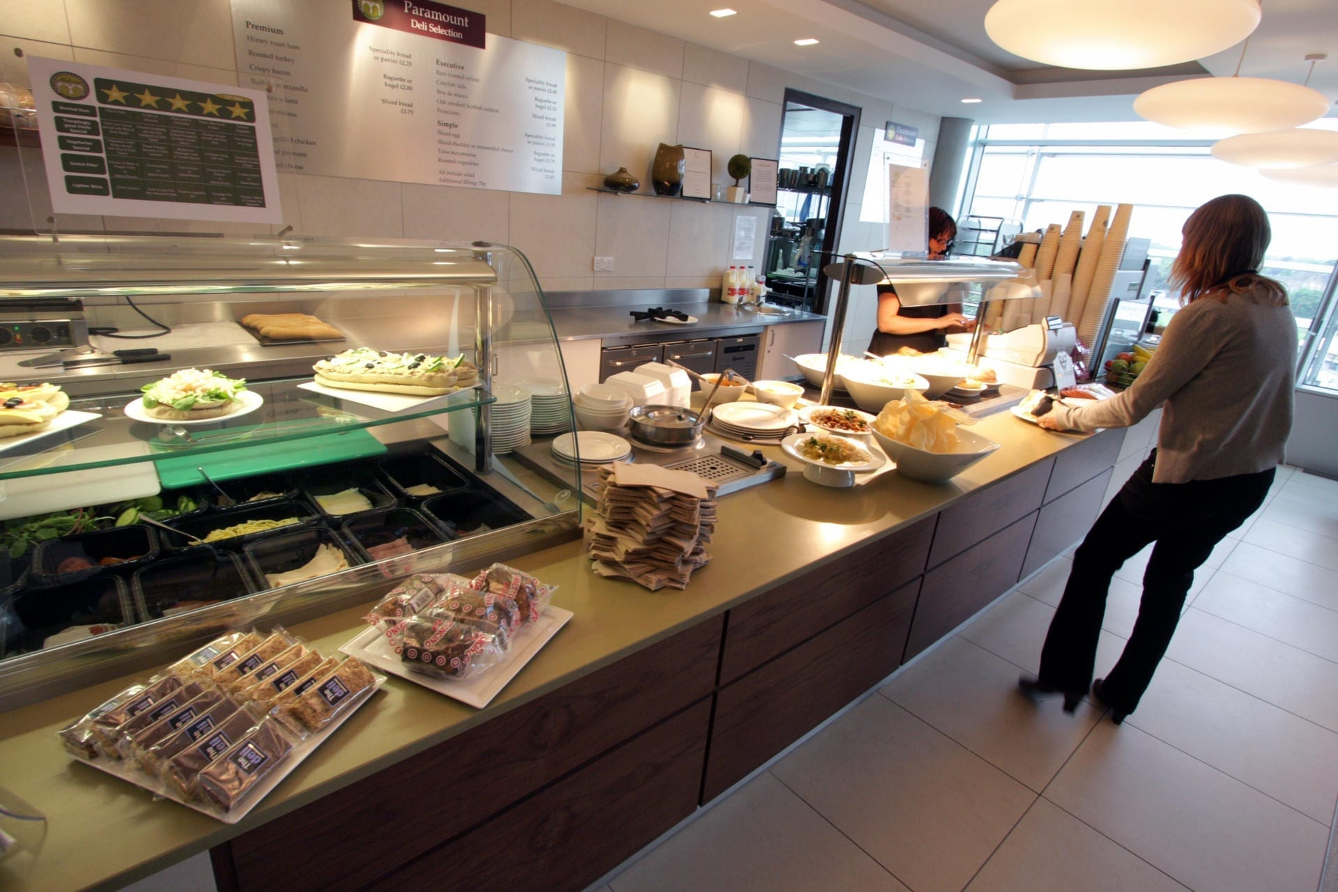 Paramount-Pictures-Charlton-House-Catering-Chiswick-Servery-Front-of-house-Servery-Food-Display-spacecatering_7