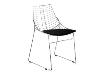 Net Side Chair with Cushion