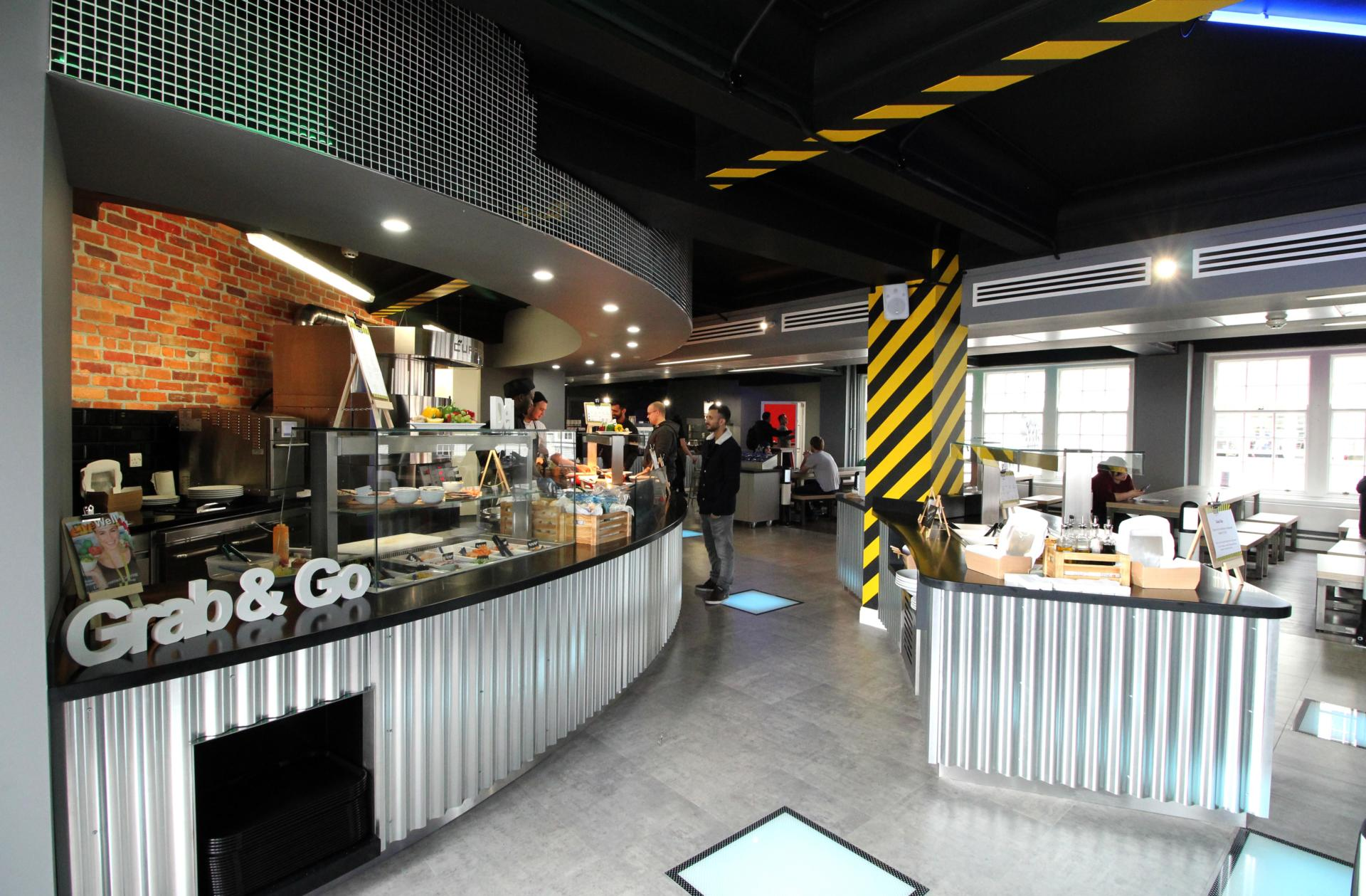 RCSH-(cold deli, assisted service, grab and go)