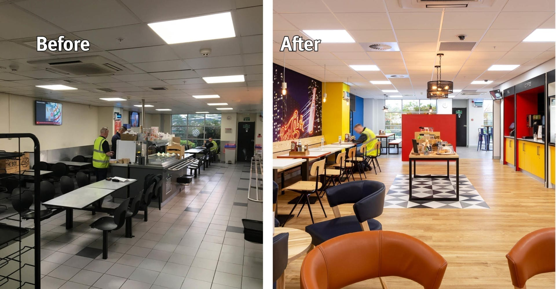 Pepsico Before and After